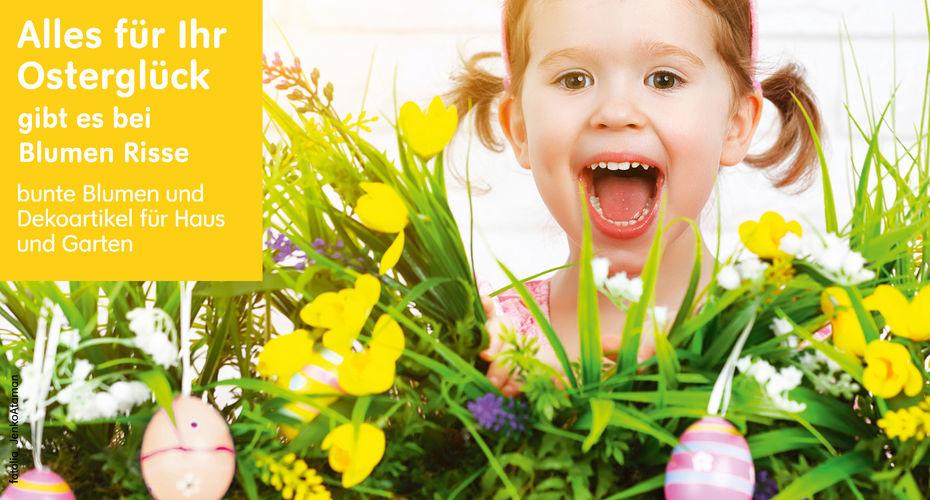 Sonderöffnungszeiten Ostern Blumen Risse